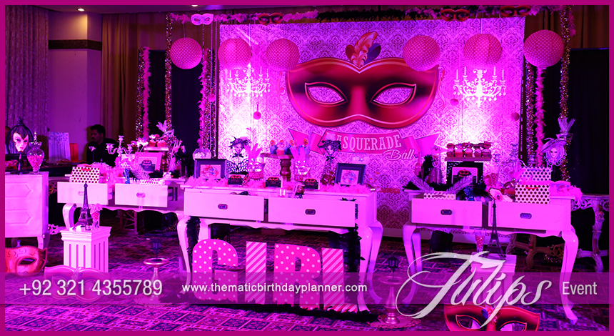 Masquerade Ball Party Theme Decoration Ideas In Pakistan