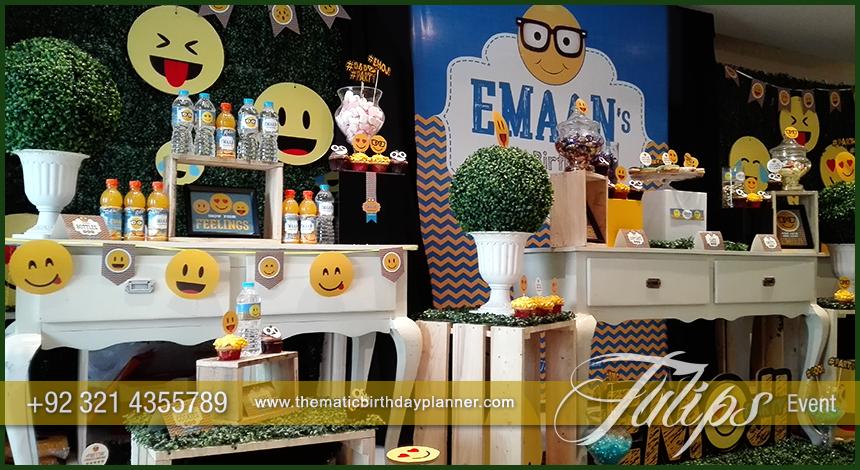 Plan Emoji Birthday Theme Emoticon Party Ideas In Pakistan