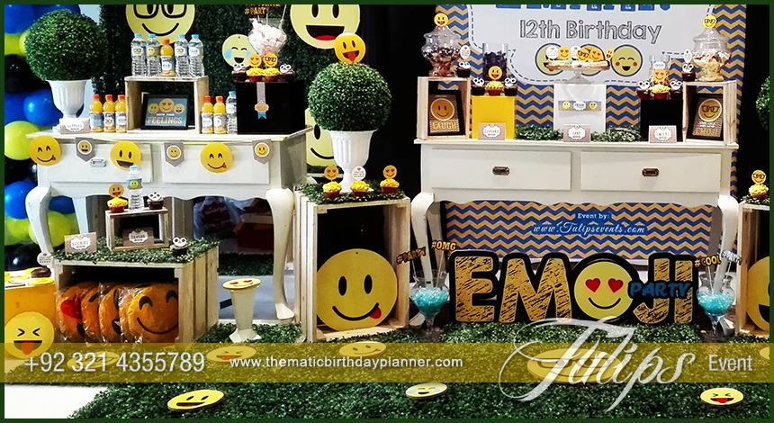 Emoji Birthday Party Theme Decoration Ideas In Pakistan 09