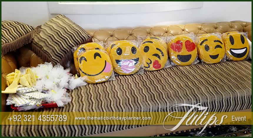 Emoji Birthday Party Theme Decoration Ideas In Pakistan