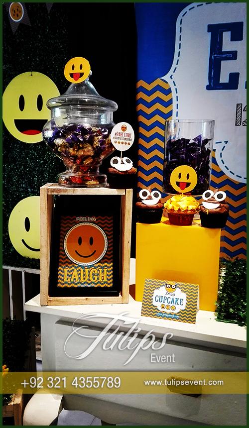 Emoji Birthday Party Theme Decoration Ideas In Pakistan 45