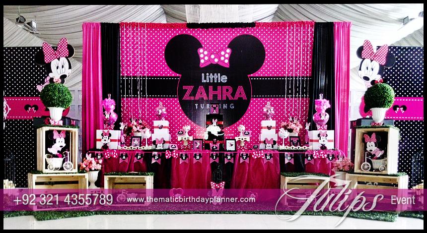 Theme Decoration Ideas Part - 42: ... Minnie-mouse-party-theme-decoration-ideas-in-pakistan- ...