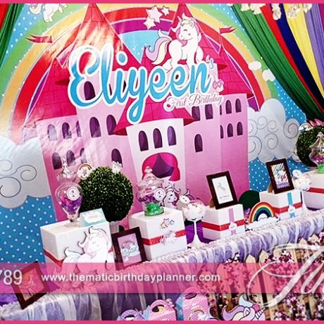 unicorn rainbow party theme
