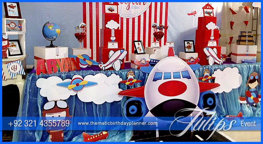 Little Pilot Birthday Party