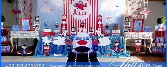 Little Pilot on Plane Birthday Party theme ideas in Pakistan (18)