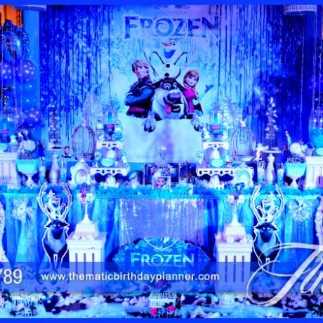 Amazing Frozen Birthday