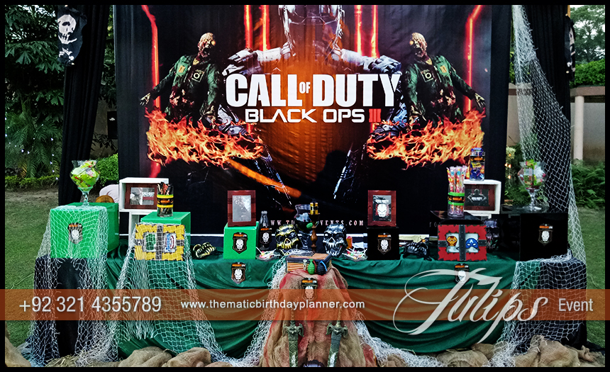Call of duty party ideas in Pakistan