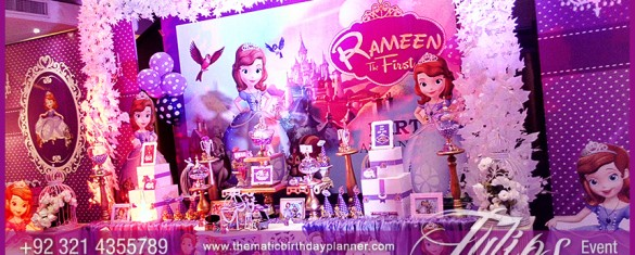Sofia The First Birthday Party Theme Ideas in Lahore