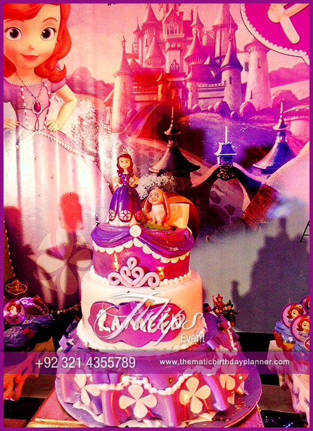Disney Sofia Birthday Theme Decoration Ideas In Pakistan