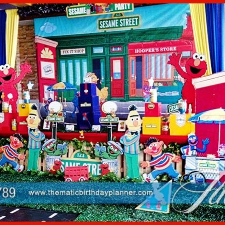 Sesame Street Birthday Decoration
