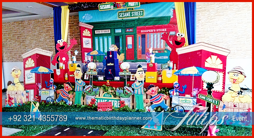 Sesame Street Birthday Decorations Ideas In Lahore Pakistan