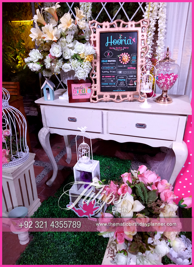 Fairy Garden Party Theme Decoration ideas in Pakistan