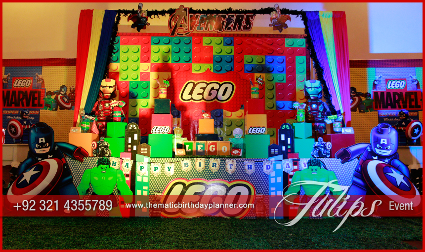 Lego Marvels Avengers Party Ideas In Pakistan 04