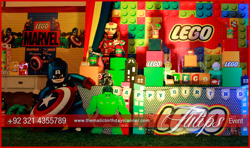 Lego Marvels Avengers Party
