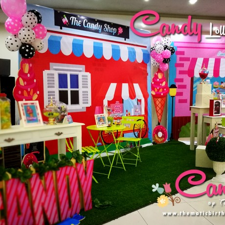 Candylicious Themed Party