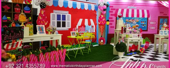 Candy shoppe birthday party ideas tulips events in Pakistan 33