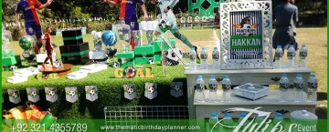 Outdoor Soccer Theme Party ideas in Pakistan 33