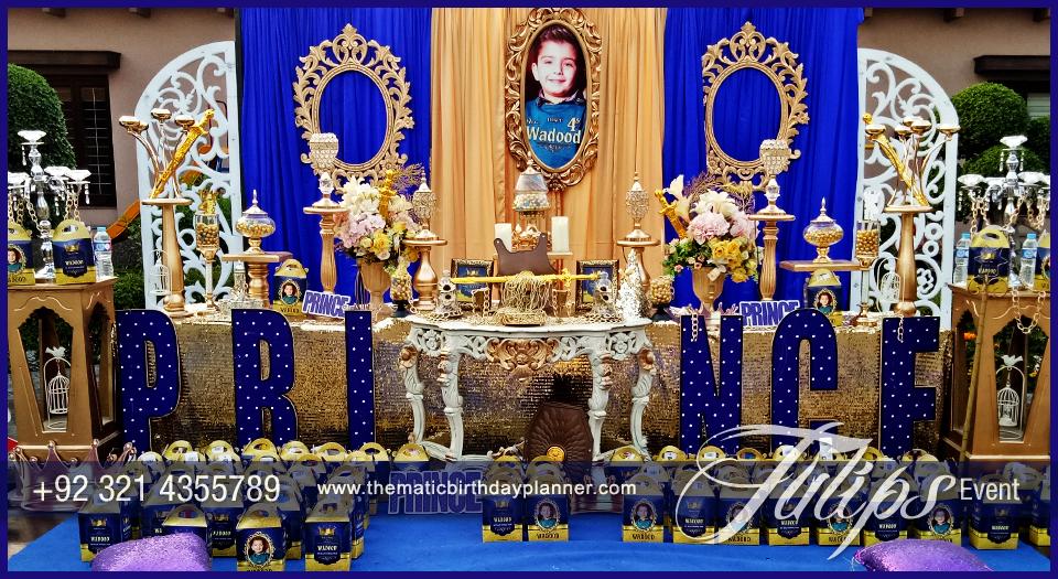 Royal King Celebrations Theme