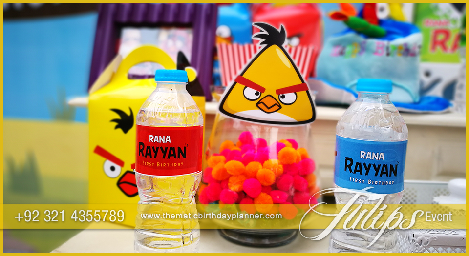 Angry birds party theme decoration ideas in pakistan for Angry birds birthday party decoration ideas