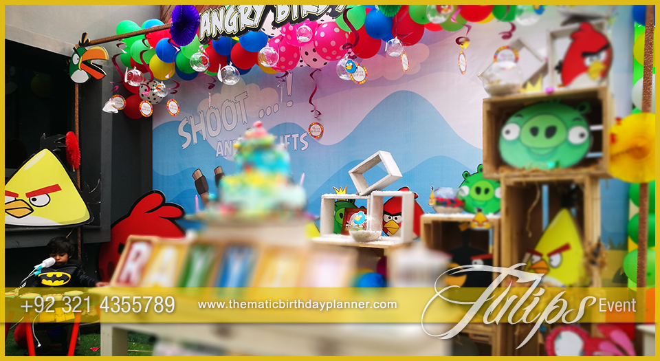 Angry birds party theme decoration ideas in pakistan for Angry birds party decoration ideas