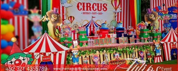 Plan Carnival Theme Birthday Party decorations in Pakistan (18)