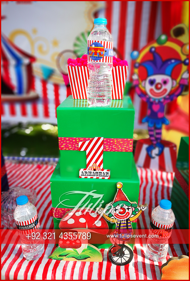 Plan Carnival Theme Birthday Party Decorations In Pakistan