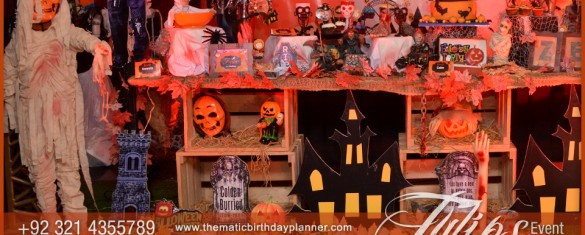 spooky halloween party decor ideas in pakistan