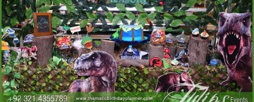 jurassic world theme party decor ideas in Pakistan 10