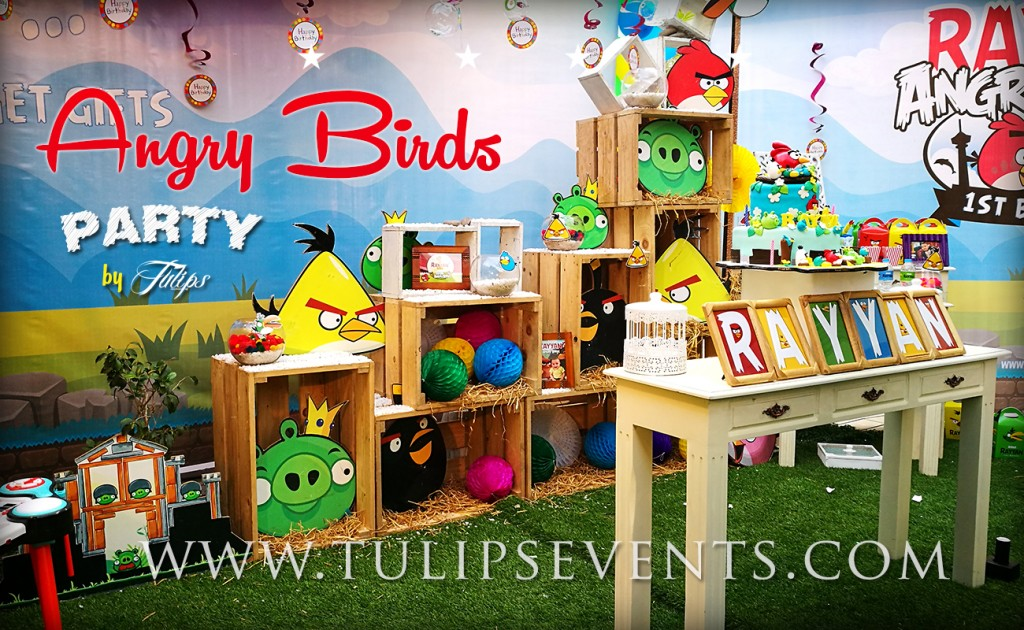 Angry Birds Party Ideas tulips events in Pakistan (2)