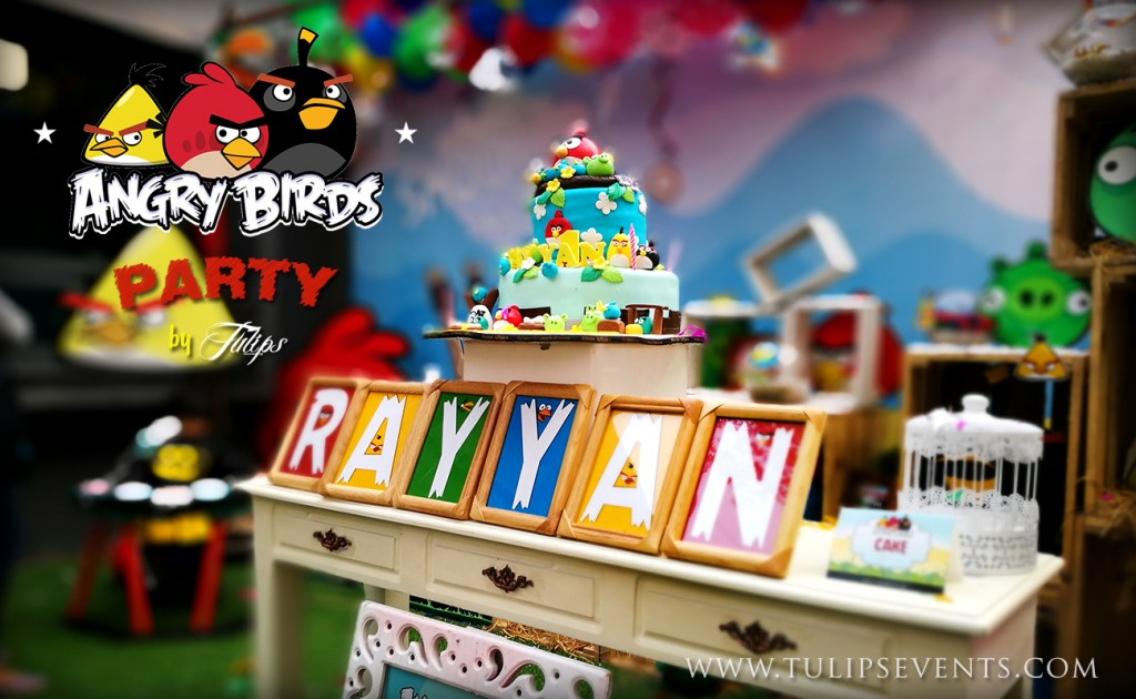 Angry Birds Party Ideas tulips events in Pakistan (3)