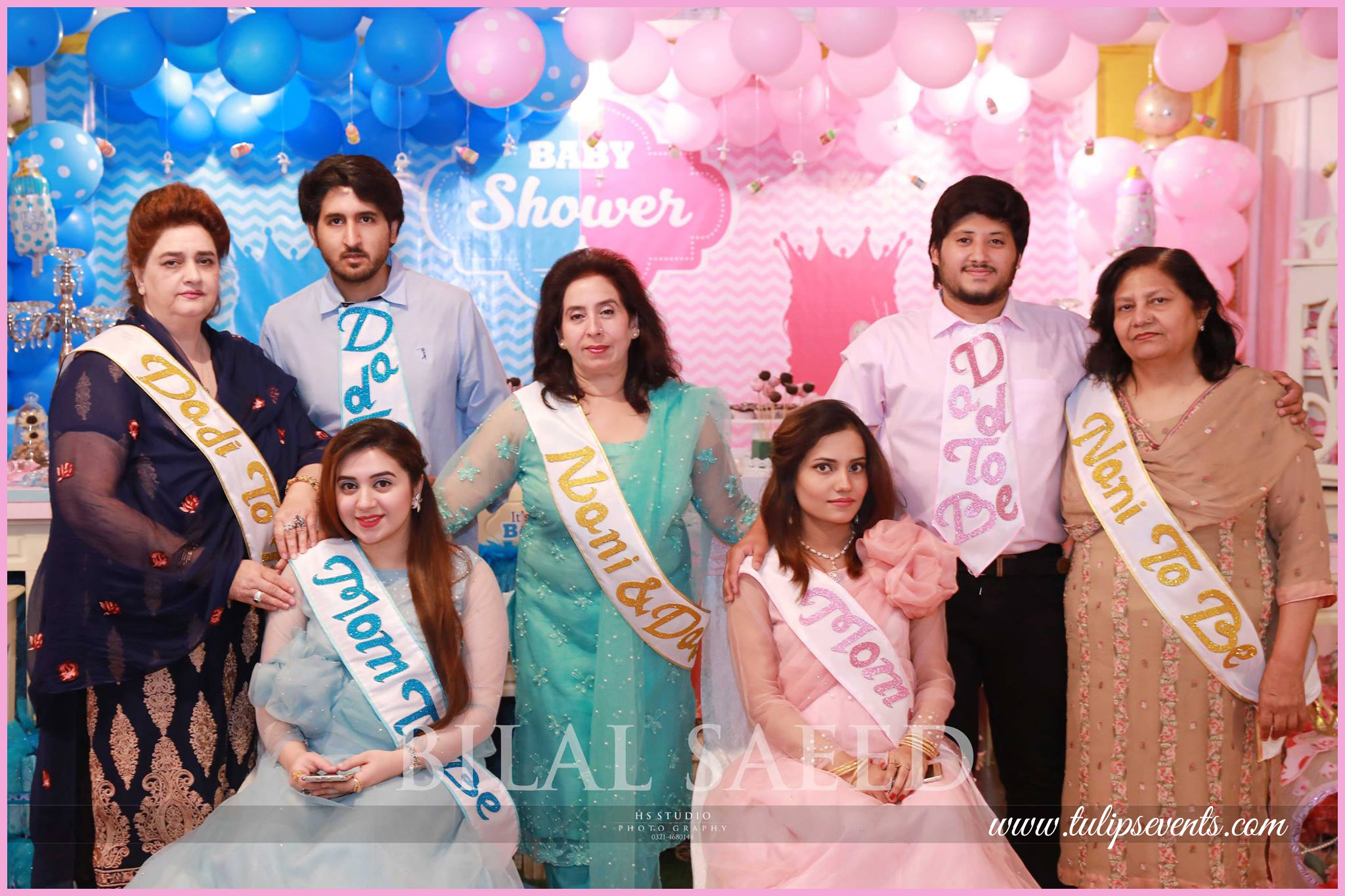 Baby Shower Party decoration ideas tulips events in Pakistan (2)