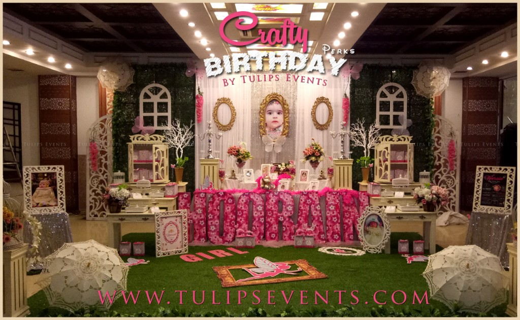 Crafty Birthday Decorations by Tulips Events in Pakistan (1)