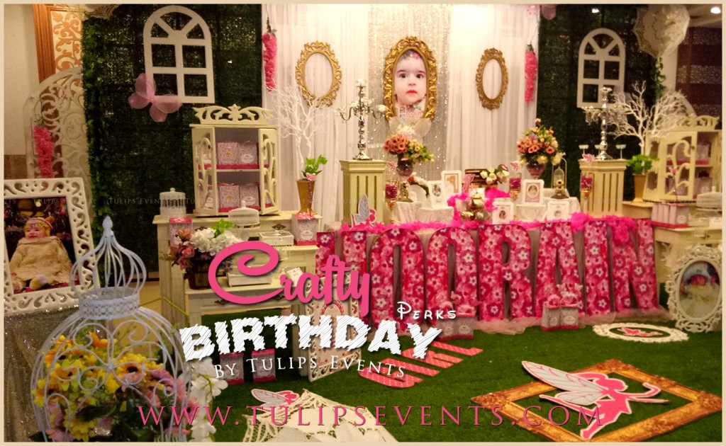 Crafty Birthday Decorations by Tulips Events in Pakistan (6)