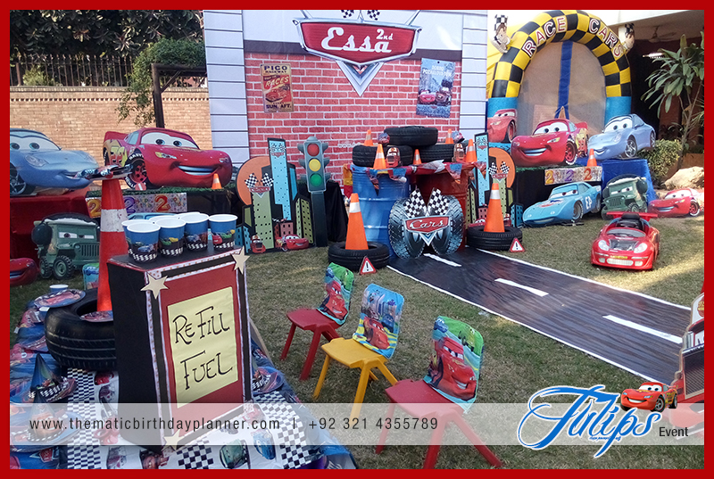 Disney Cars Birthday Party Theme Ideas in Pakistan 06