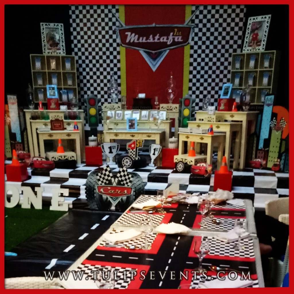 Disney Cars Theme Party Decor Tulips Events in Pakistan (6)