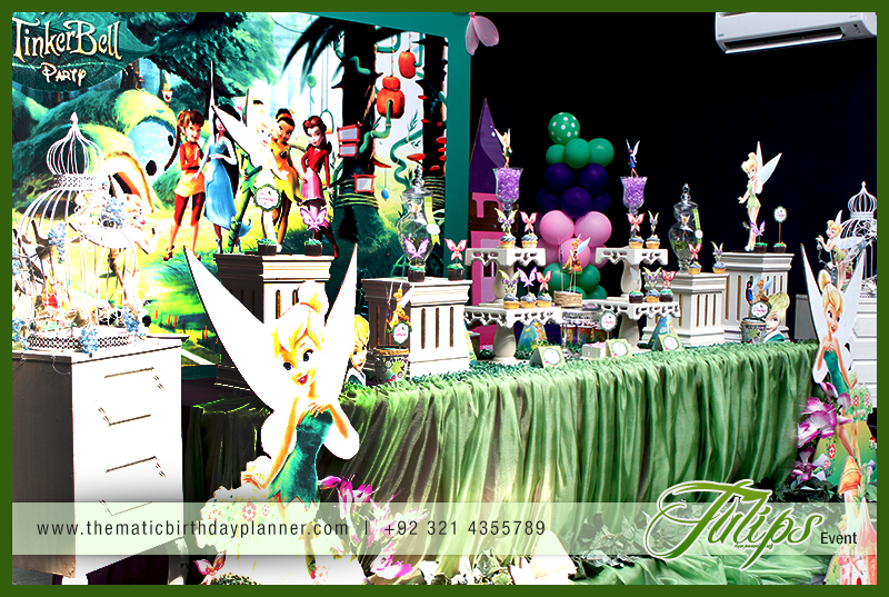 Fairy Tinker Bell Birthday Party Theme Ideas in Pakkstan 16