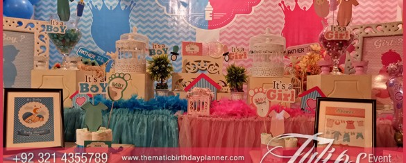 Gender Neutral Baby Shower Theme Party Decor ideas in Pakistan 19