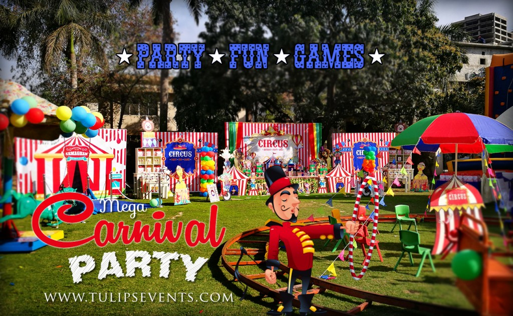 Mega Carnival Circus Theme party ideas in Pakistan (2)