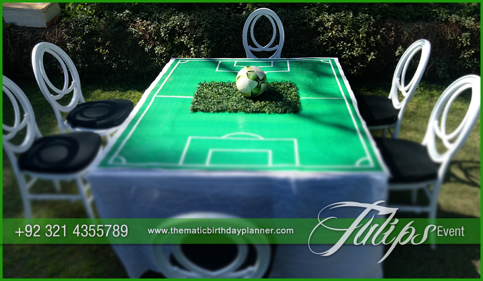 Outdoor Soccer Theme Party ideas in Pakistan 29