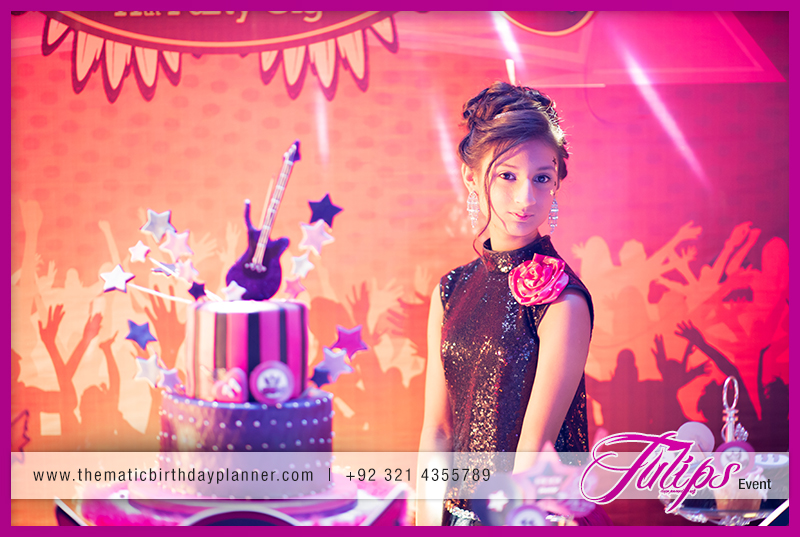 Rock Star Girl Birthday Party theme ideas in Pakistan 02