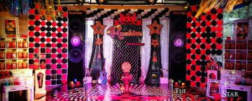Rock Star Theme Party decor ideas in Pakistan (3)