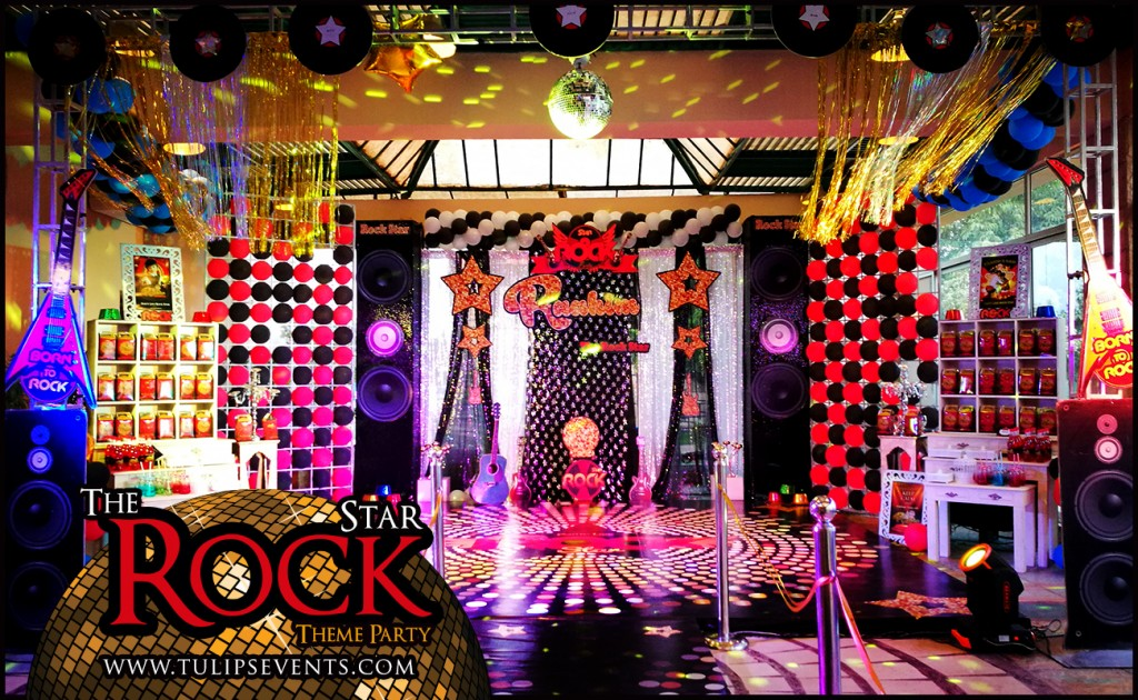 Rock Star Theme Party decor ideas in Pakistan (8)