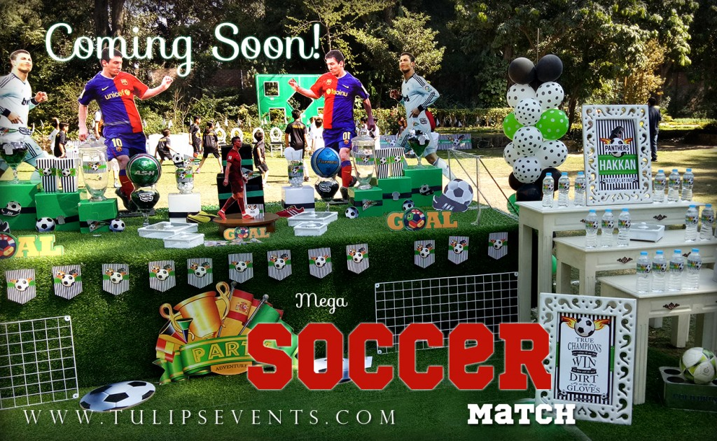 Soccer theme birthday party ideas in Pakistan