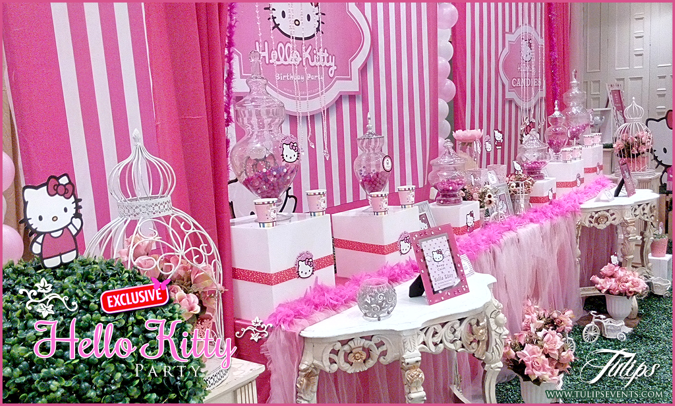 hello kitty birthday party theme ideas in Pakistan