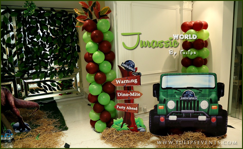 jurassic world theme party ideas in Lahore Pakistan 02
