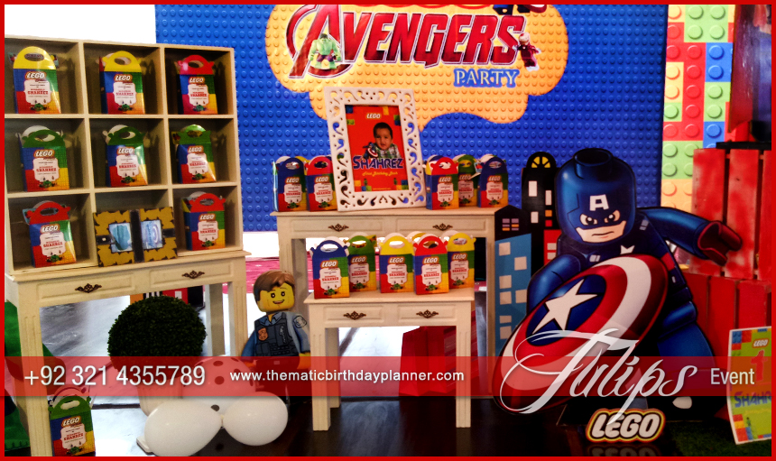 lego marvel's avengers party ideas in Pakistan 08