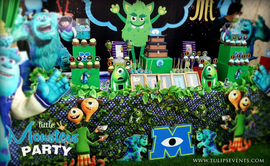 little monsters university theme party ideas in Pakistan