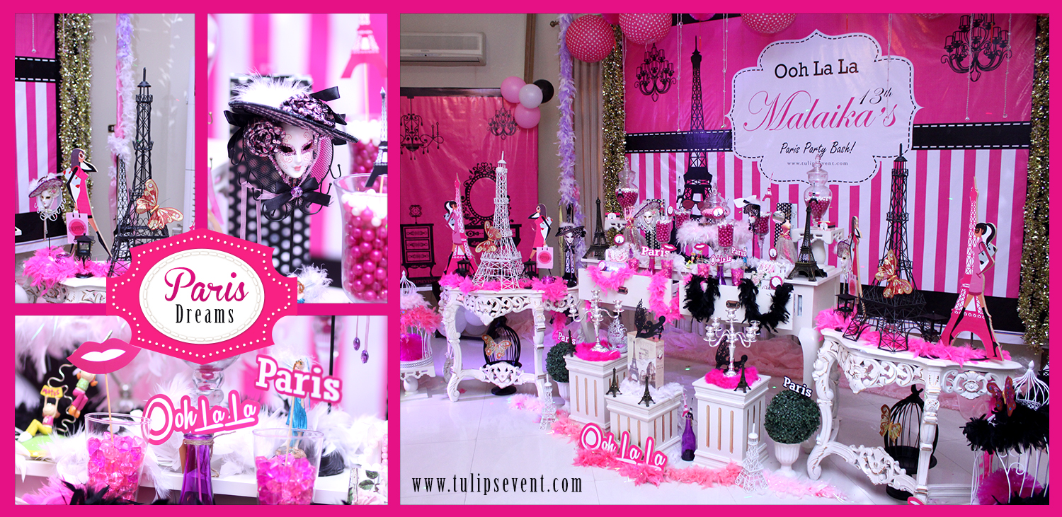 ooh la la paris birthday theme ideas tulipsevent in pakistan