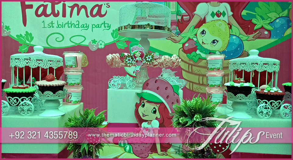 Strawberry shortcake party ideas party planner pakistan - Strawberry themed kitchen decor ...