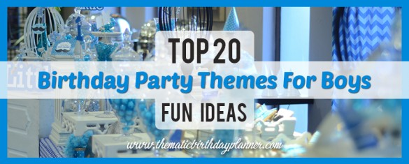 Top 20 Best Boys Party Themes Decor Ideas In Pakistan